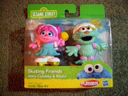 Sesame Street Skating Friends Abby Cadabby & Rosita by Playskool