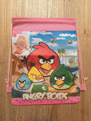 Angry Birds Drawstring Backpack Sling Bag – Personalized