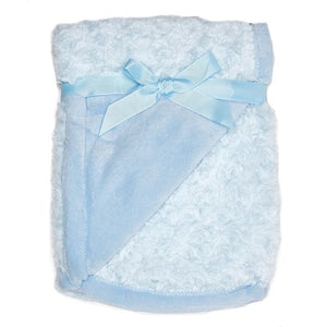 Night Night Baby Blue Blanket - Personalized with Applique