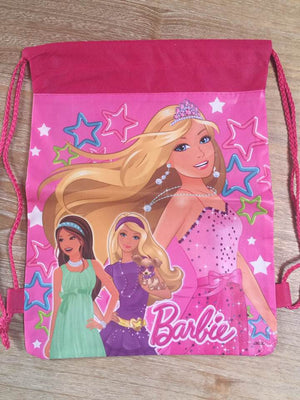 Barbie Drawstring Backpack Sling Bag – Personalized