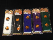 Basketball Terrycloth Wristband Set of 2
