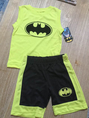 DC Comics Batman Boys' 2-Piece Short Set Outfit