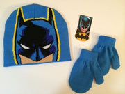 DC Comics Batman Winter Hat and Mittens Set Toddler Boy 2T-5T - Personalized