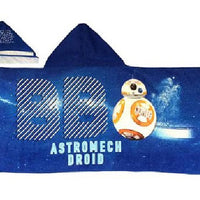 Star Wars Hooded Beach Bath Towel Wrap BB8 Astromech Droid - Personalized