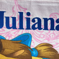 Beauty and the Beast Princess Belle Beach Towel - Personalized Beach Towel