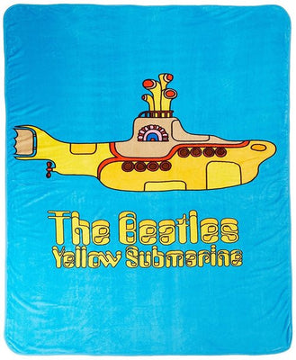 The Beatles 'Yellow Submarine' Blanket - Personalized