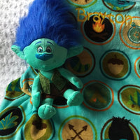 Trolls 'Branch' Hugger & blanket Throw Set - Personalized