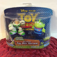Hasbro Toy Story Buzz Lightyear and Alien Box Heroes Figures