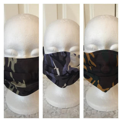 Face Covering - Camouflage Camo Masks