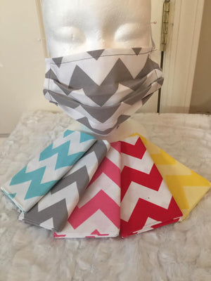 Face Covering - Chevron Prints