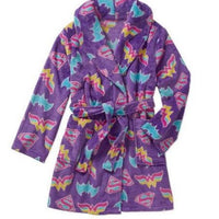 DC Comics Girls 6-12 Batgirl Supergirl Wonder Woman Logo Robe - Personalized Monogrammed