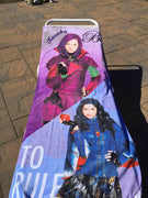Disney Descendants Split Ruler Beach Towel - Personalized Beach Towel