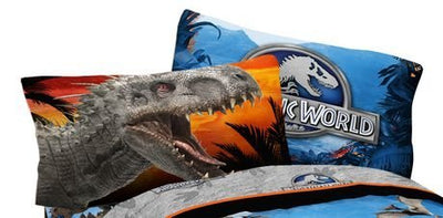 Universal Studios Jurassic World Dinosaur Pillowcase - Personalized