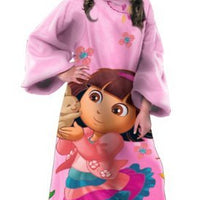 Dora the Explorer Polyester Throw with Sleeves - Personalized