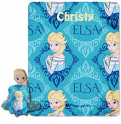 Frozen Elsa Hugger and Fleece Throw Set - Personalized
