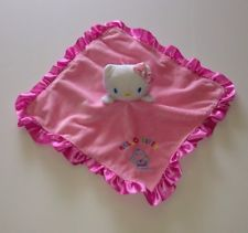 Hello Kitty Baby Lovey Blanky Security Blanket - Personalized