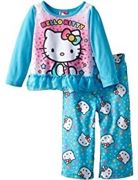 Hello Kitty Little Girls' 2Pc Sleep Set Size 3T
