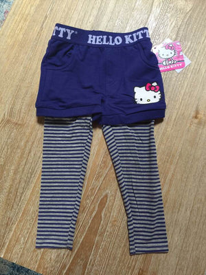 Hello Kitty Toddler Leggings/Shorts combo
