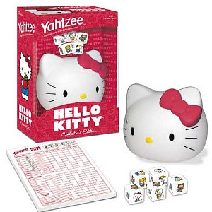 Hello Kitty Yahtzee Game Collector's Edition
