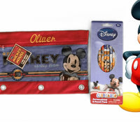 Mickey Mouse 3 Ring Pencil Case Pouch - Monogrammed