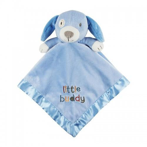Stepping Stones Little Buddy Dog Security Baby Blanket Lovey - Personalized