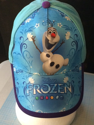 Disney's FROZEN OLAF Childs Baseball Cap Hat Personalized
