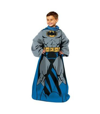 BATMAN Youth Comfy Blanket Throw with Sleeves - Personalized