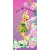 Disney Tinkerbell Pretty Girl Beach Towel, Pink - Personalized