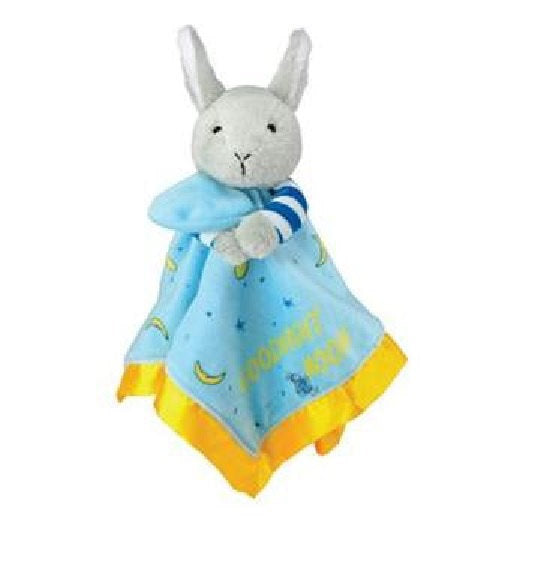 Goodnight Moon Plush Bunny Blanky Security Baby Blanket - Personalized