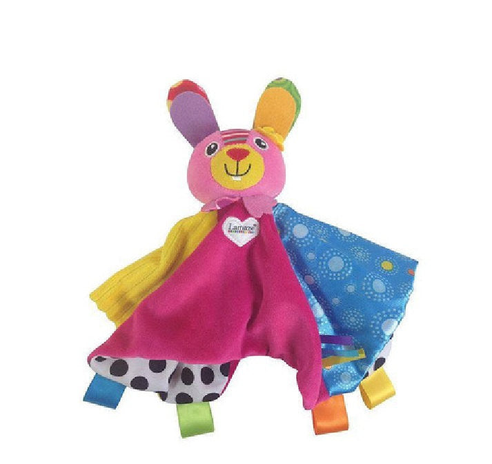 Lamaze Bella the Easter Bunny Blankie Security Baby Lovey - Monogrammed