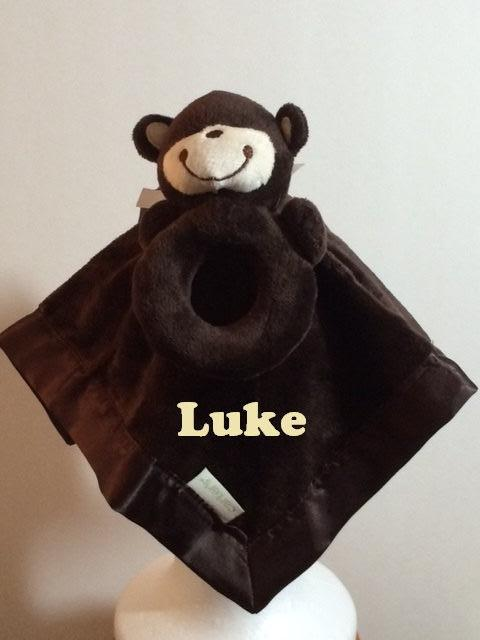 Personalized Baby Boy Carter/'s Football Security Blanket Lovey