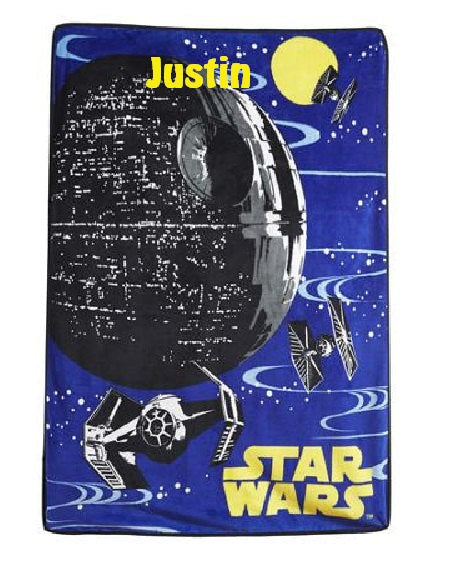 Star Wars Rebellion Micro Raschel Throw Blanket - Personalized