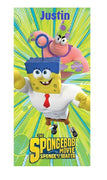 SpongeBob 'Super Awesomeness' Beach Towel - Personalized
