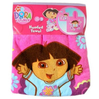 DORA the Explorer Hooded Beach Towel Poncho – Personalized
