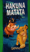 Disney The Lion King ''Hakuna Matata'' Beach Towel - Personalized