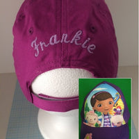 Disney Doc McStuffins Baseball Cap - Girls  Personalized