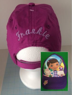 Disney Doc McStuffins Baseball Cap - Girls Personalized ed875dc8a9fc