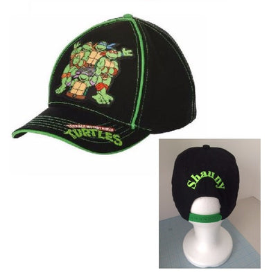 TMNT Teenage Mutant Ninja Turtles Toddler Boy's Baseball Hat - Personalized