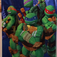 TMNT Turtles Stance Beach Towel - Personalized