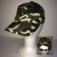 Kids Camo Camouflage Baseball Cap Hat Summer Camp Birthday Party Favor - Personalized