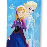 Disney Frozen My Sister My Hero Anna Elsa Cotton Beach Towel Personalized