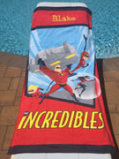 Disney / Pixar The Incredibles Beach Towel - Personalized