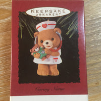 Christmas Ornament -  1993 Hallmark Keepsake Ornament Caring Nurse