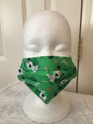 Face Covering - Irish Dogie Print