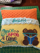 3 Little Bears Pocket Pillow Reading- Personalized