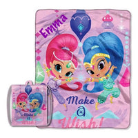 Shimmer and Shine 'Star Power' Drawstring Tote and Throw Set - Personalized
