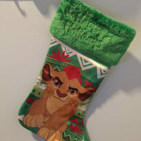 "Lion Guard Kiara 20"" Christmas Stocking Plush Cuff - Personalized T1"