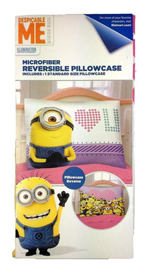 Despicable Me 'Eye Love U 2' Reversible Pillowcase - Personalized