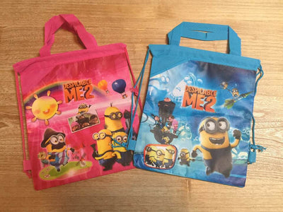 Despicable Me Minions Drawstring Backpack Sling Bag – Personalized