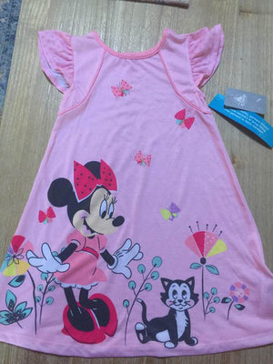 Minnie Mouse Toddler Girls' Nightgown Size 5/6